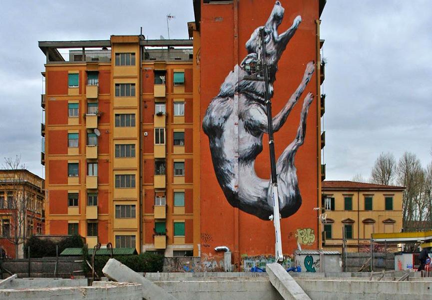 Mural in Rome