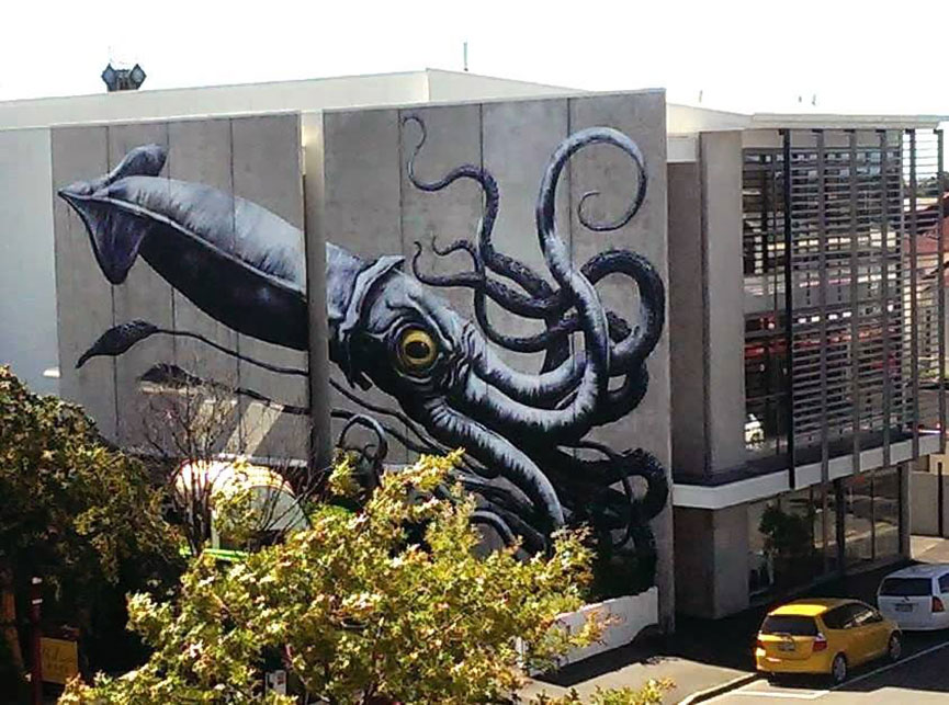 Belgian street artist