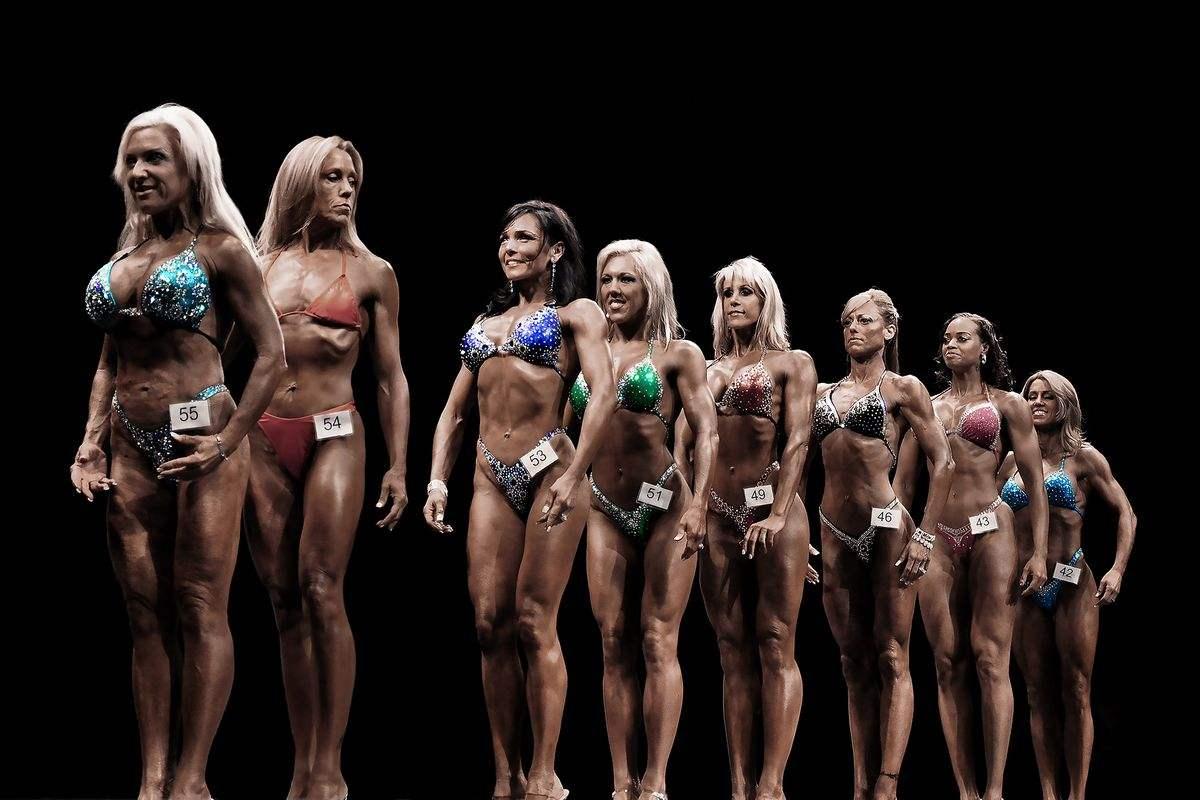 Rachel Rampleman - Bodybuilder Study (IFBB, #27), 2015