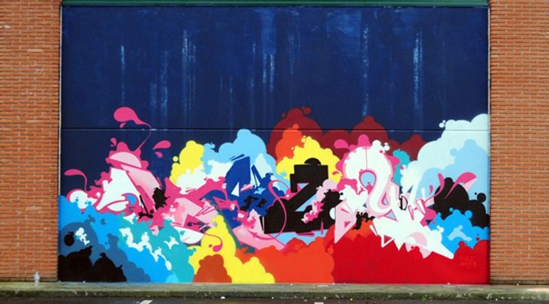 Mural at Amazing Day 2013 - Milan, Italy - sell - video vimeo