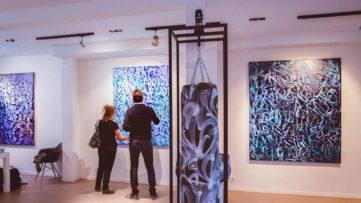 Rafael Sliks, Motion, Installation View