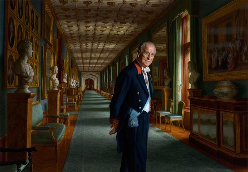 Ralph Heimans - HRH Prince Philip Portrait
