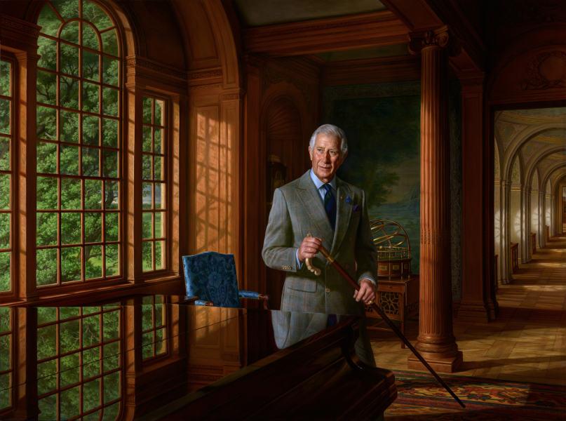 Ralph Heimans - Portrait of HRH Prince of Wales