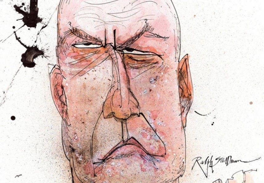 Ralph Steadman - Breaking Bad drawings