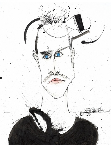 Ralph Steadman - Breaking Bad drawings