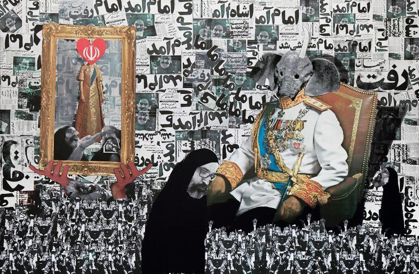 Ramin Haerizadeh - He Came, He Left, He Left, He Came, 2010