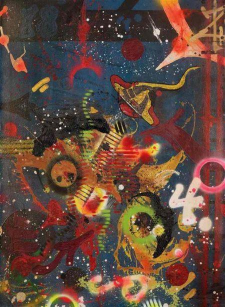 Rammellzee-Atomic futurism, New tron bug out-1986