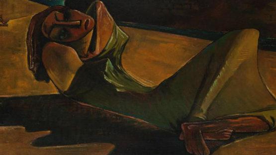 Ramses Younan - Contre le mur, 1945, Image copyright of artist