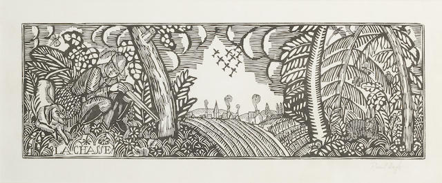 Raoul Dufy-La Chasse, from Quatre Bois-1911