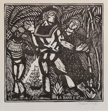 Raoul Dufy-La Danse, from Quatre Bois-1911