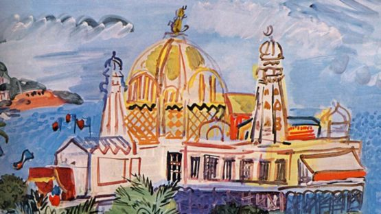 Raoul Dufy - The casino of Nice, 1929 (detail), fauvism