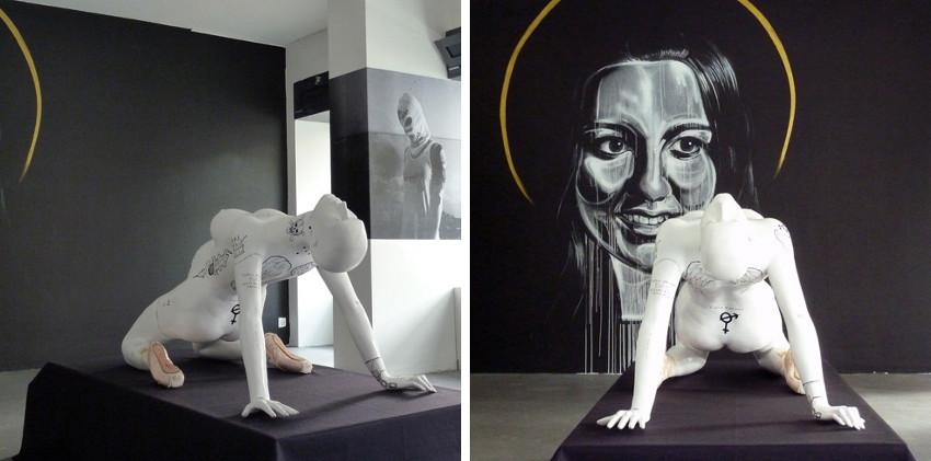 Raphael Grischa - Moskau Mafia Ballerina, 2012 - installation view