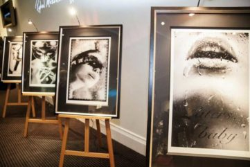 Fifty Shades of Grey Art in London - The Erotic Novel Expressed Through Photography