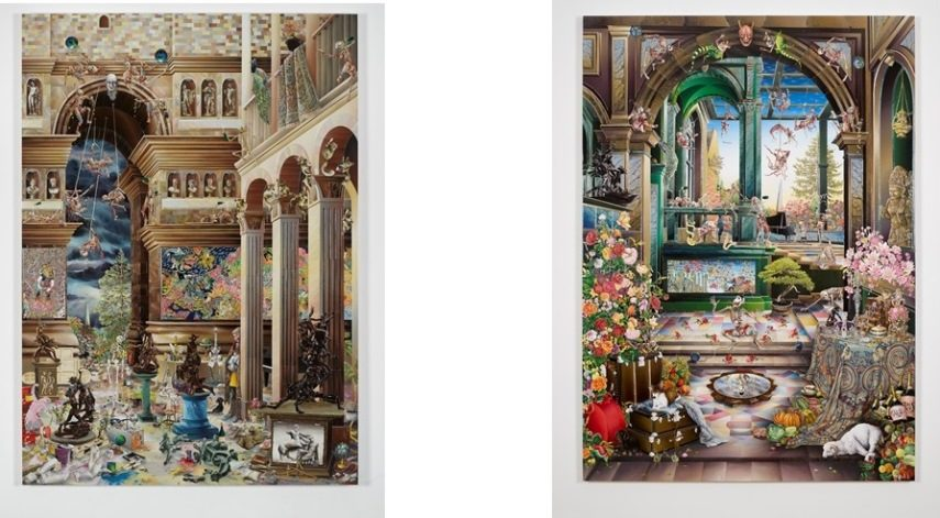 Raqib Shaw art world design tate contact york earthly terms born