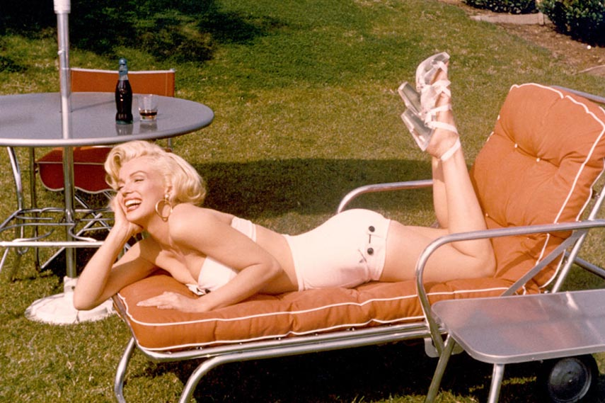Marilyn Monroe home privacy in hollywood