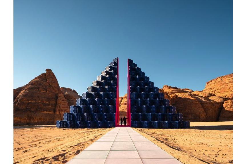 Rashed Alshashai - A Concise Passage, Desert X AlUla