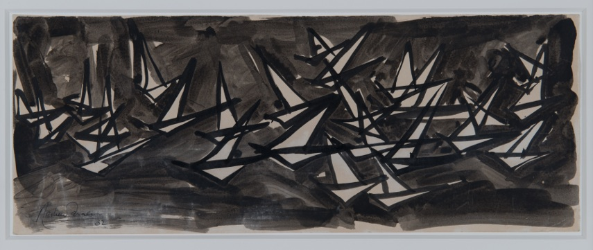 From the series Boats Towards Abstraction, 1958-1962