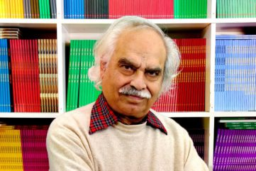 Rasheed Araeen - Photo of the artist, Photo Socrates Mitsios
