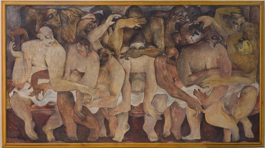 Rateb Seddik - Sans titre, 1940.