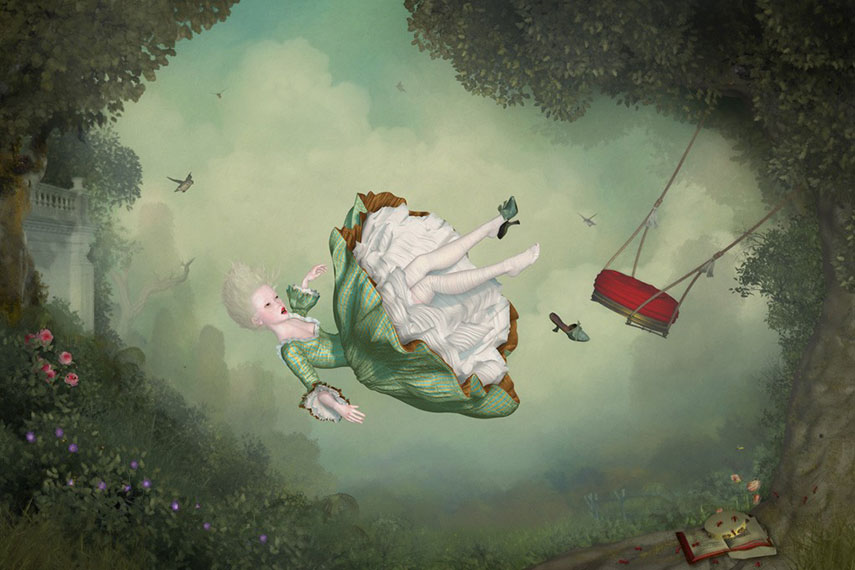 Ray Caesar's painting style belongs to Pop Surrealism or Low brow art movement. Contact us for more works!