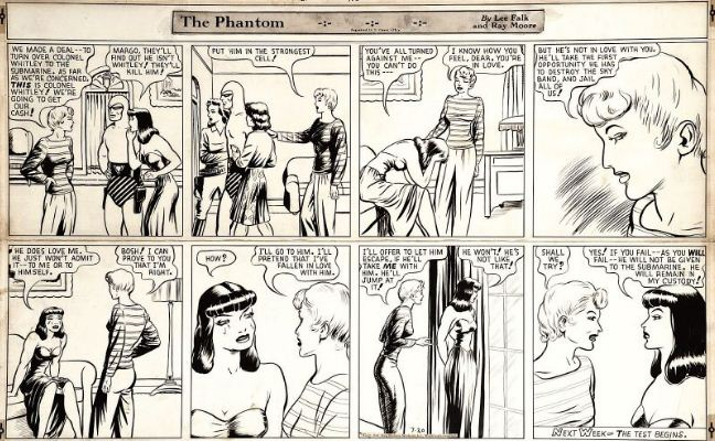 Ray Moore-The Phantom-