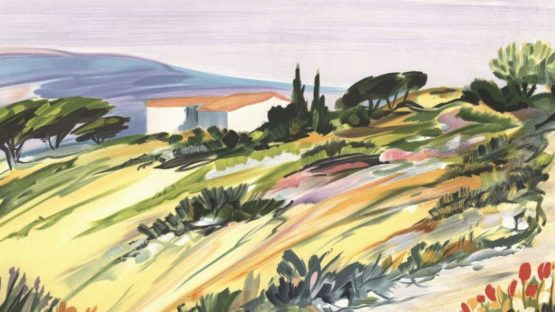 Ray Poirier - Paysage de Provence 04 - Image via galerie125com