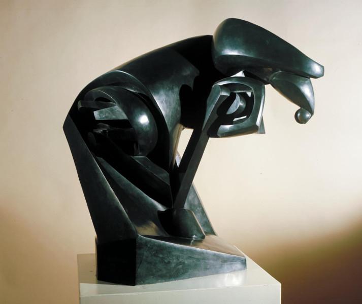 Raymond Duchamp-Villon - The Major Horse Sculpture, 1914, cast 1961
