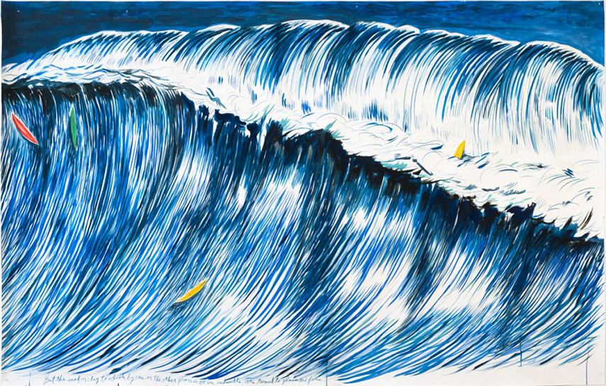 Raymond Pettibon - No Title (But the sand), 2011
