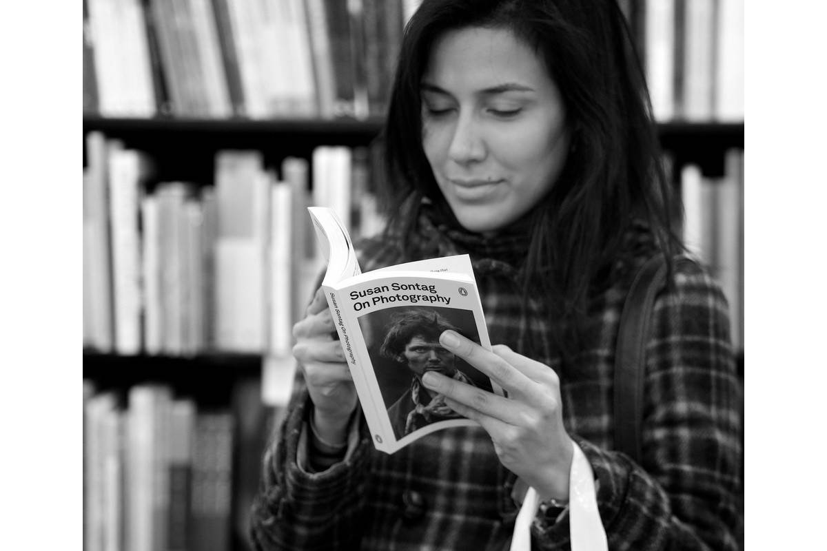 Reader with On Photography by Susan Sontag