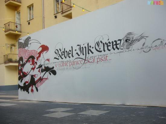 Rebel Ink at Prague, 2008
