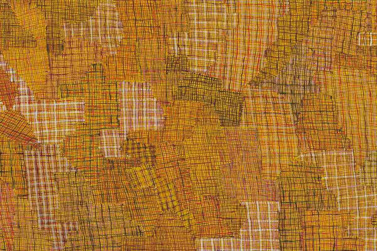 Regina Pilawuk Wilson - Syaw (Fishnet), 2014