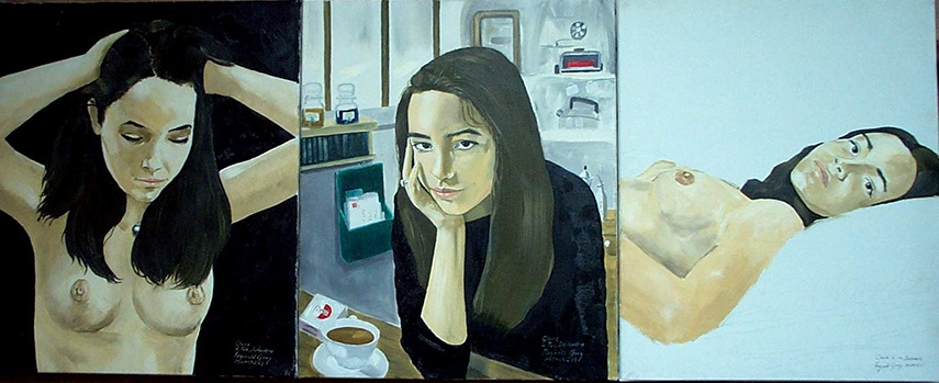 Reginald Gray - The Claire Triptych