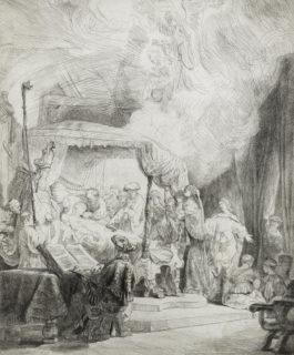 Rembrandt van Rijn-Death of the Virgin-1639