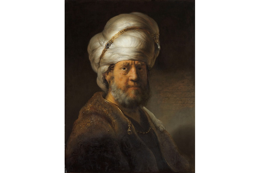 Rembrandt van Rijn - Man in Oriental Dress