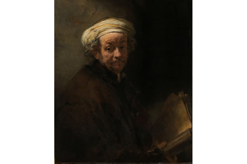 Rembrandt van Rijn - Self-Portrait as the Apostle Paul