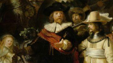 Rembrandt van Rijn - The Night Watch, detail