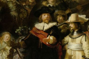 Watch as The Night Watch Painting by Rembrandt is Restored!