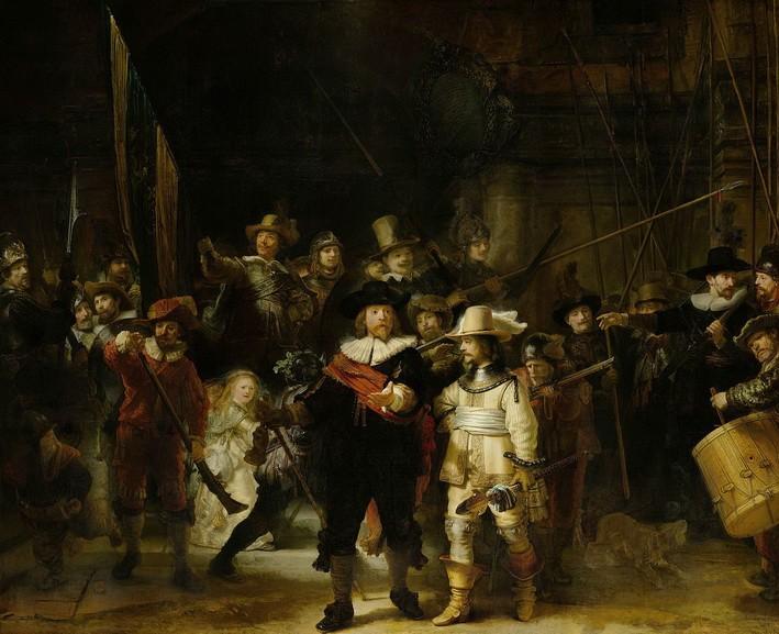 Rembrandt van Rijn - The Night Watch, 1642. The Rijksmuseum Amsterdam