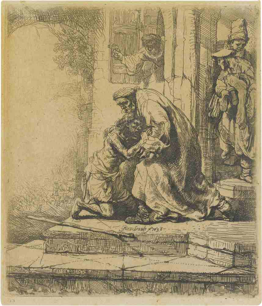 Rembrandt van Rijn-The Return Of The Prodigal Son-1636