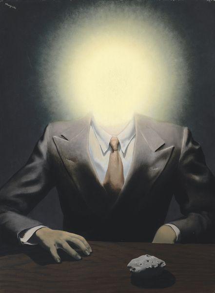 René Magritte- Le Principe du Plaisir, 1937
