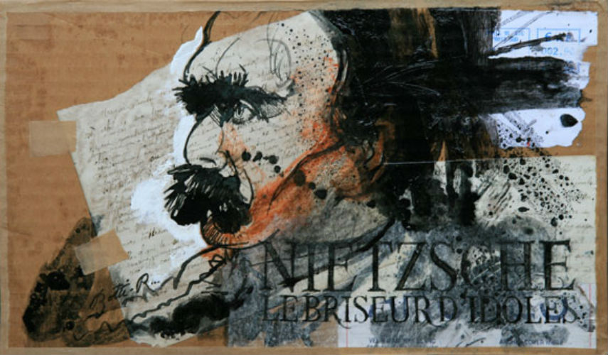 Rene Botti - Les grands philosophes - Nietzsche, photo credits delartsurlapanche.com