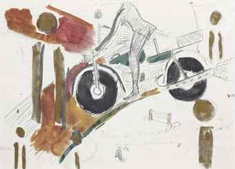 Rene Daniels-Untitled (Het Zadel Overwonnen)-