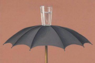 Rene Magritte - Hegels Holiday, 1958