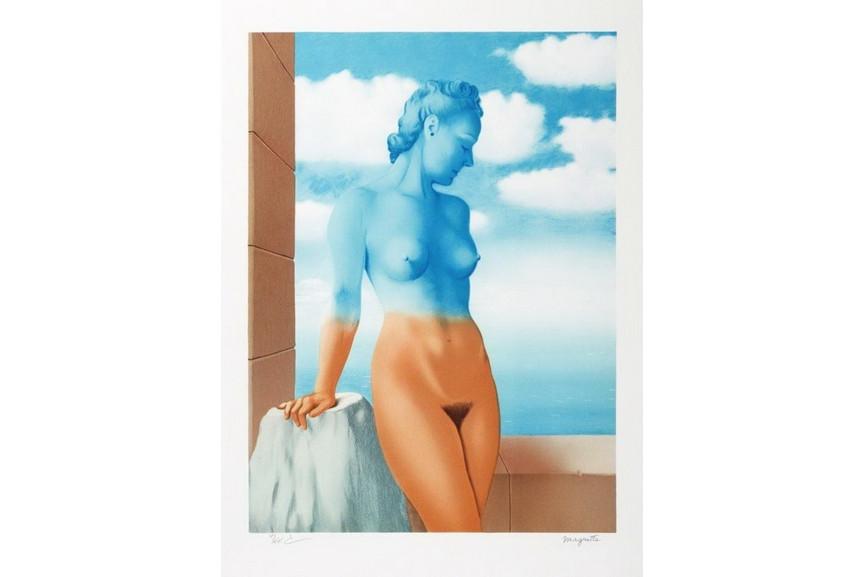 Rene Magritte - La Magie Noire