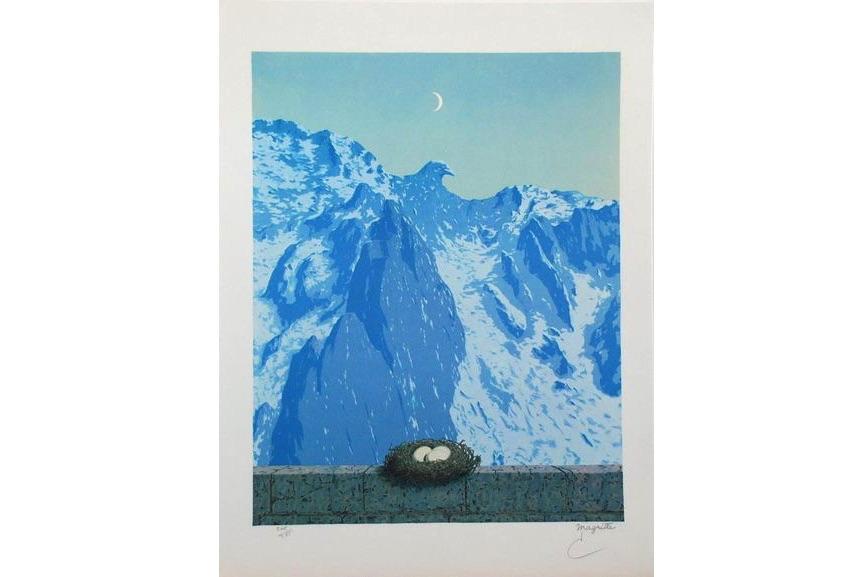 Rene Magritte - Le Domaine d'Arnheim, 2010