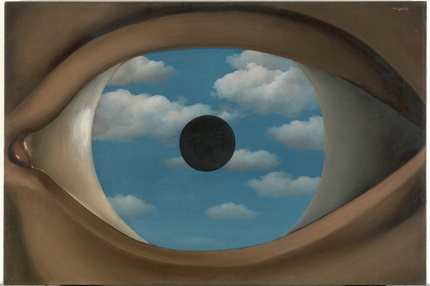 Celebrate the year of magritte with a marvelous show at for Rene magritte le faux miroir