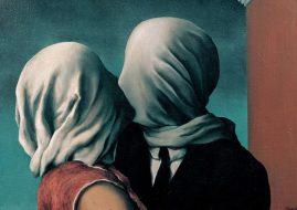Rene Magritte - Les Amants, 1928