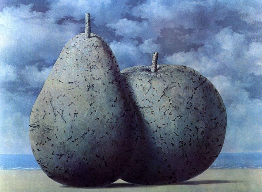 Rene Magritte - Memory of a Voyage, 1955