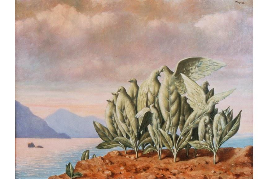 Rene Magritte - Treasure Island