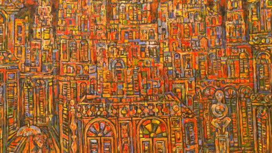 Rene Portocarrero new york gallery auction arts price